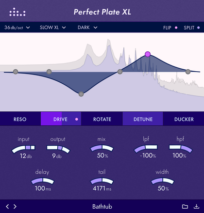 denise audio Perfect Plate XL plugin image