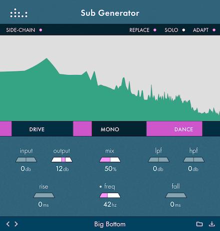 denise Sub Generator plugin